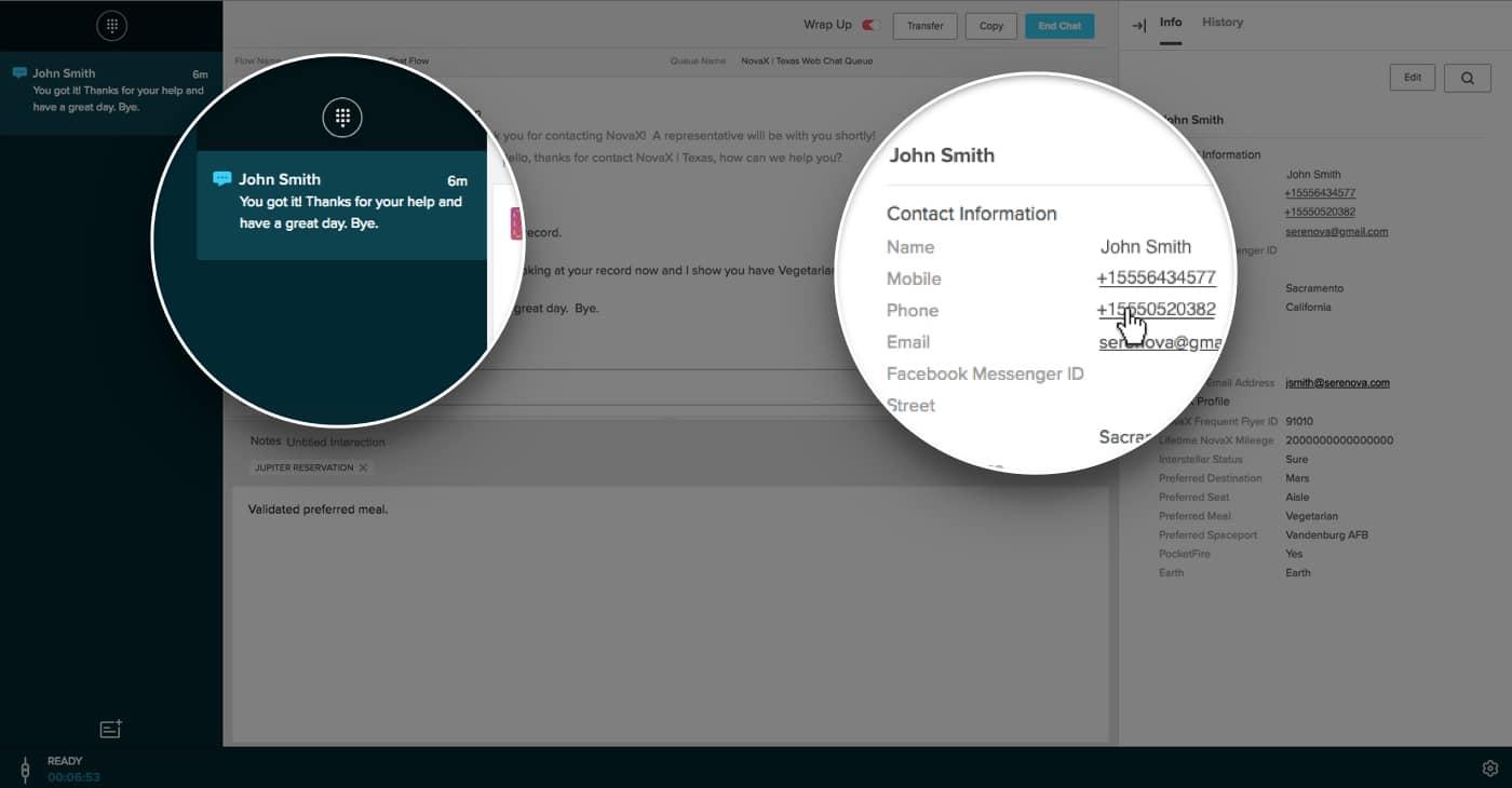 Screenshot of Skylight dashboard